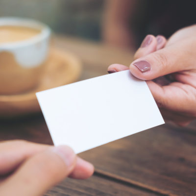 Entrepreneur Business Cards: 5 Key Reasons Why Business Cards Still Matter